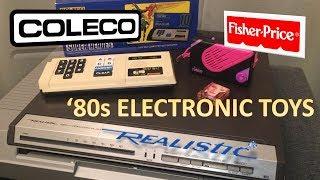 '80s Toys: Realistic CED Player - Pocket Rocker - Coleco Quiz Wiz
