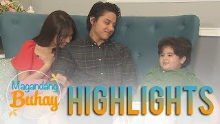 Magandang Buhay: Jordan's sweet message to Daniel and Kathryn