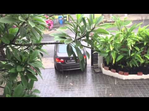 House tour Singapore. Outdoor portion