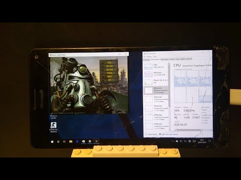 Watch Windows 10 ARM running on Lumia 950 XL just for fun
