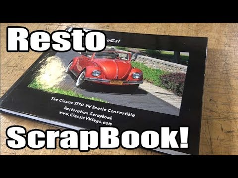 Classic VW BuGs How To Increase Value Beetle Build Restoration ScrapBook Shutterfly Mixbook