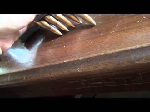 1938 Nazi marked 8x56 steyr ammo