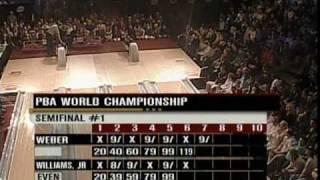 2003 Pete Weber vs Walter Ray Williams Jr. Part 2