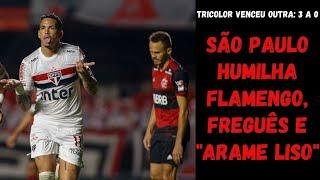 Freguês do São Paulo, Flamengo leva outra surra e mostra que voltou a ser