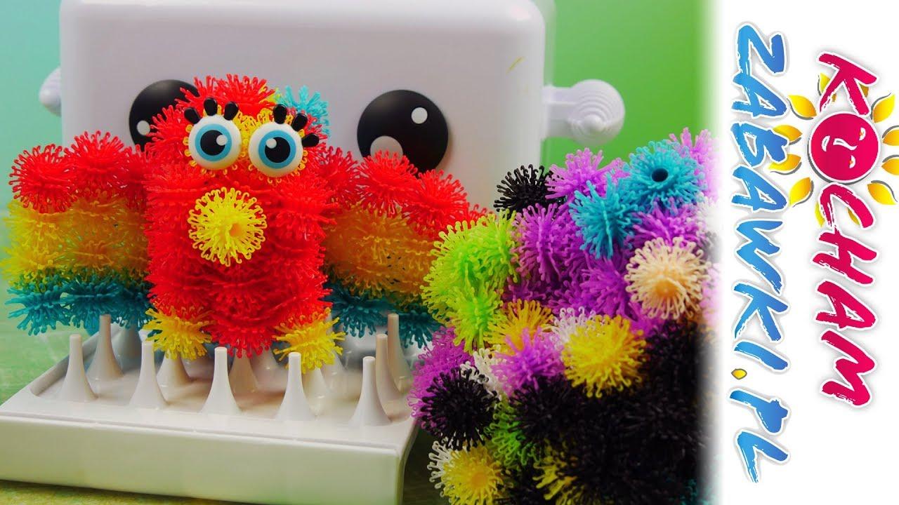 Bunchems Sprytna Maszynka Bunchbot • Kolorowa Papuga • Bajki i tutorial