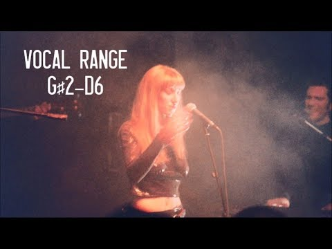 The Vocal Range of Happy Rhodes