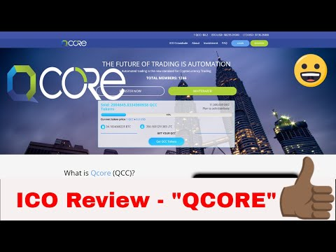 Safest ICO Investment? | Crypto Trading bot | Get Lambo ready with Qcore!