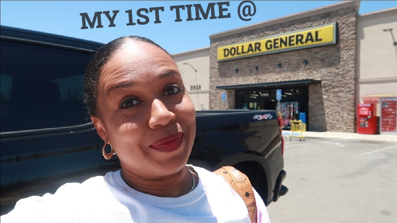 DOLLAR GENERAL * MY 1ST TIME EVER!!!  RIDE WITH ME