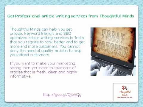 professional article writer service