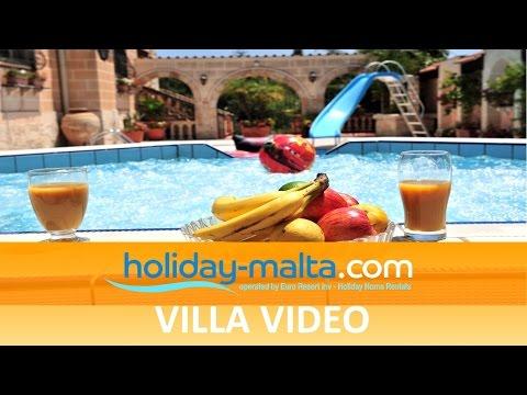 Holiday Villa Rental Malta, Naxxar Iklin (E200)