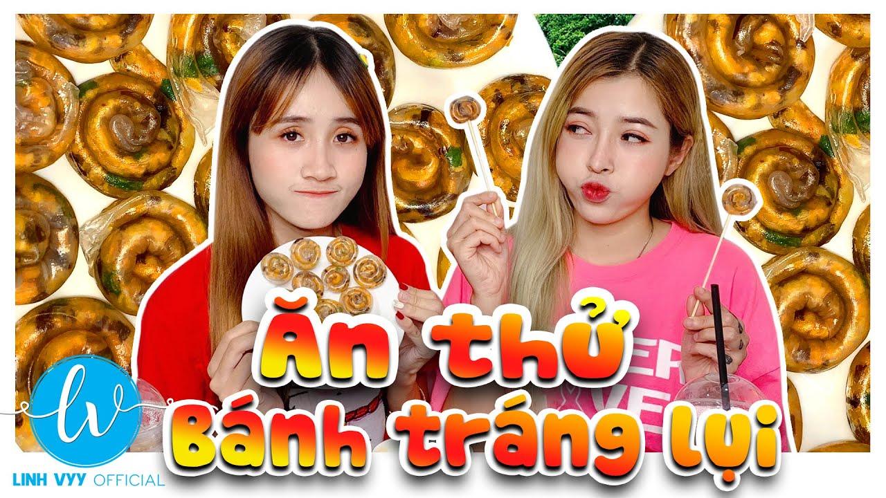 Review Bánh Tráng Lụi Tây Nguyên Siêu Ngon I Linh Vyy Official