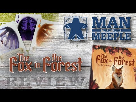 The Fox in the Forest (Renegade Games) Review by Man Vs Meeple