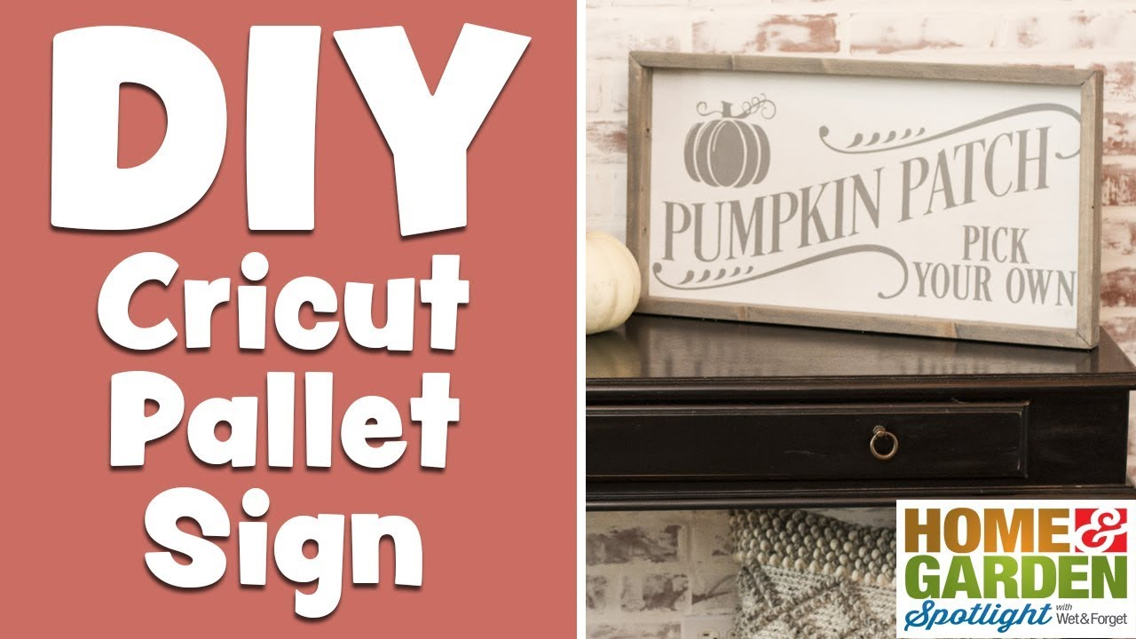 DIY Cricut Pallet Sign DIY Cricut Pallet