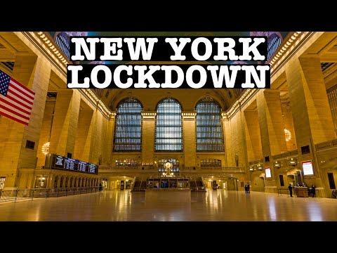 NEW YORK CORONAVIRUS LOCKDOWN: GRAND CENTRAL TERMINAL, NYC