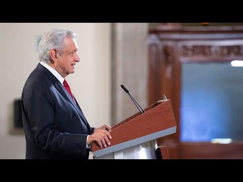 México recibirá de Estados Unidos 8.5 millones de dosis de vacunas. Conferencia presidente AMLO