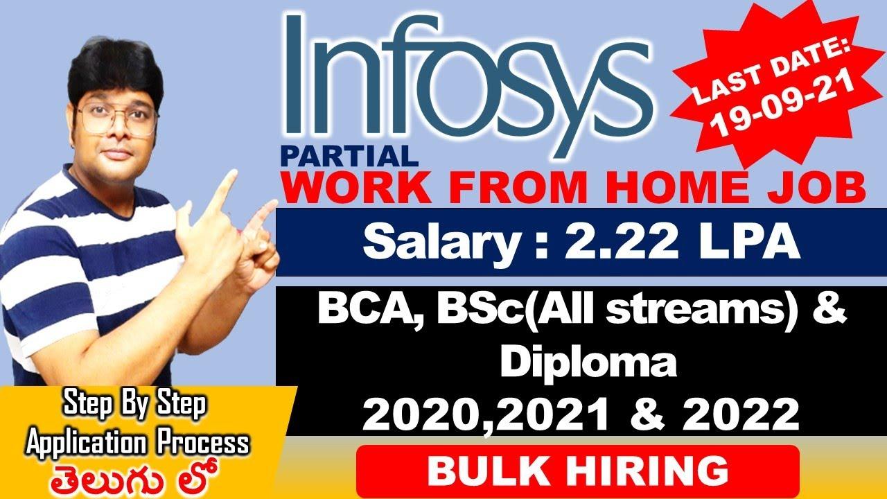 infosys New recruitment 2021 in Telugu  Infosys Off Campus Recruitment 2021 Latest jobs V the Techee