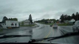 driving in Presque Isle Maine