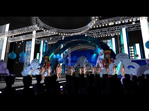 Miss Sim Universe 2013 - Swimsuit Competition