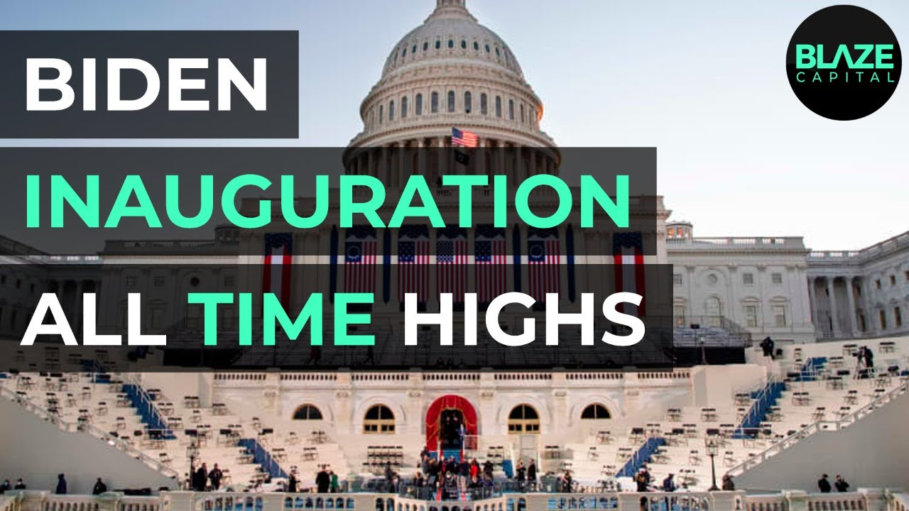 Stocks Close On Record Highs After Biden Inauguration