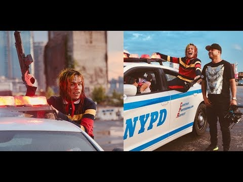 Gunmen Pull a Drive on 6ix9ine and 50 Cent Get The Strap music  shoot 11 shots were fired
