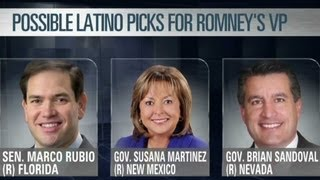 Mitt Romney picking a Latino Vice President