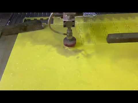 Гидроабразивная резка стеклотекстолита