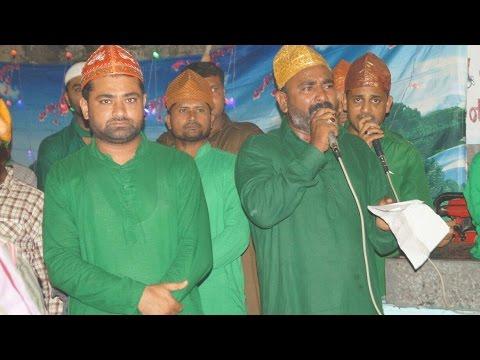 Karbala Jaate Hai Shabbir, Hai Taiba Khaali...Qalam Moharram Amreli 2016 9376288881