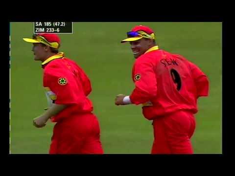 *Rare* South Africa vs Zimbabwe  World Cup 1999 Mini Highlights