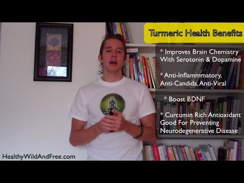 Turmeric Health Benefits (Curcumin Prevents Neurodegenerative Disease & Anti-Inflammatory)