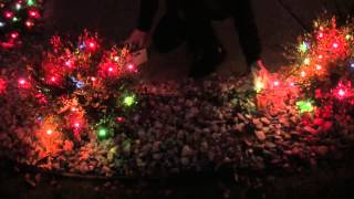 Block Out Unwanted Christmas Lights Using No Glow Caps (Black Out Caps)