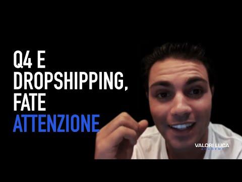 Q4 e Dropshipping, fate attenzione