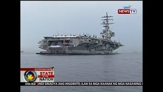 Aircraft carrier USS Ronald Reagan, muling dumaan sa South China Sea