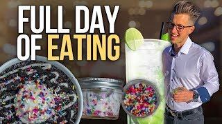 Alcohol & Flexible Dieting Full Day of Eating