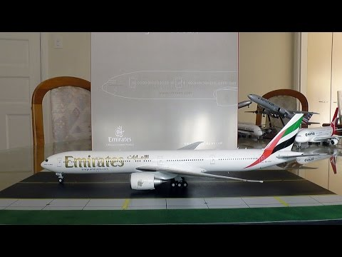 Gemini Jets 1:200 Emirates 777-300ER Unboxing and Review