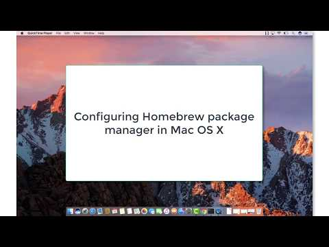 Xcode, Java, Homebrew For Mac OS X