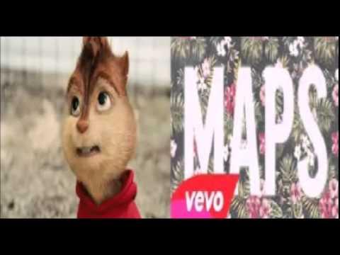 Maps - Maroon 5 (Chipmunks Version)