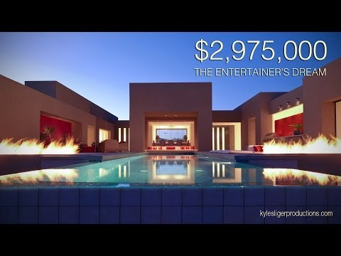 $3 Million Entertainers Dream Estate - Scottsdale, Arizona