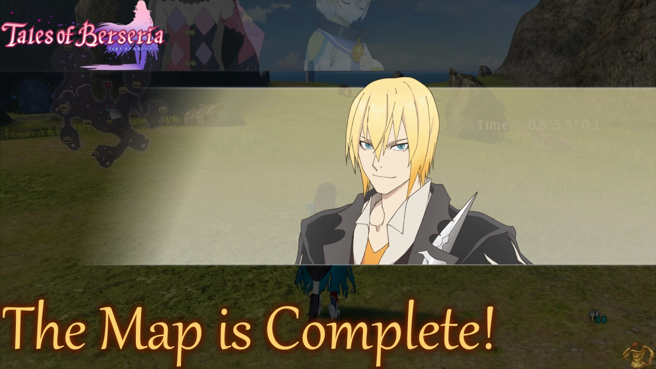 Tales Of Berseria The Map Is Complete Youtube