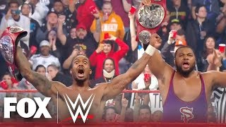 Street Profits defeat Seth Rollins & Murphy, crowned new WWE RAW Tag Team Champs | MONDAY NIGHT RAW