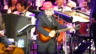 Elvis Costello (w / L.A Philharmonic) - All This Useless Beauty (Hollywood Bowl, L.A CA /9/5/14)