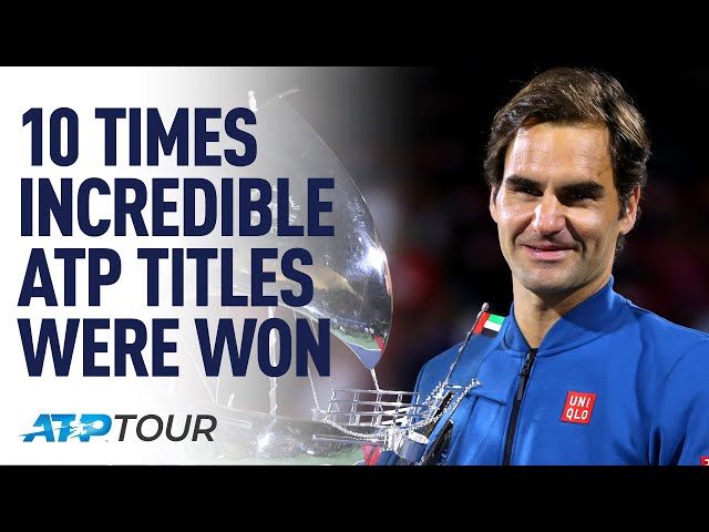 10 Unforgettable ATP Titles | ATP