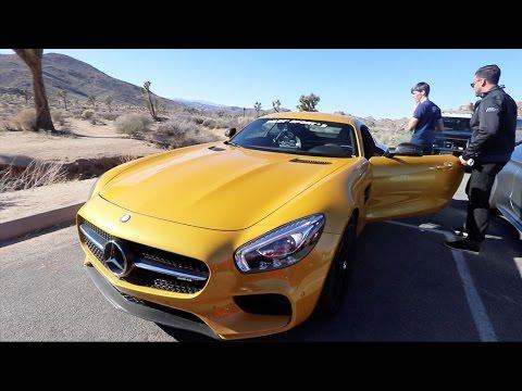We Drove The AMG GT S, Audi R8 & Met Keanu Reeves!
