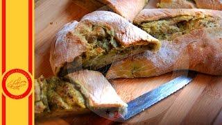 Хлеб с тапенадой из оливок с зеленью - Евгения Ковалец - Угости Ближнего - эпизод 35