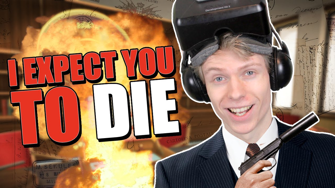 A TOP SECRET MISSION! | I Expect You To Die VR (Oculus Rift DK2 Gameplay)