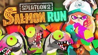 Kampf gegen die Killerfische! | Splatoon 2 - Salmon Run