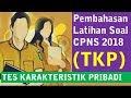 Download Pembahasan Latihan Soal CPNS 2018 - Tes Karakteristik Pribadi (TKP)