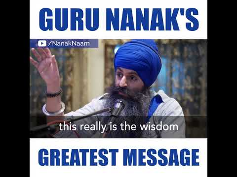 Guru Nanak's Greatest Message - Oneness - What is God?