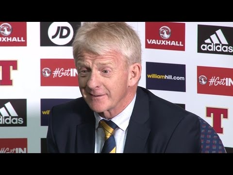 Scotland 1-0 Slovenia - Gordon Strachan Full Post Match Press Conference
