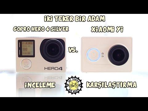 Xiaomi Yi vs. Gopro Hero 4 Silver Karşılaştırması (Eng CC)