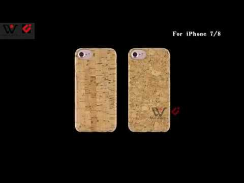 Real eco-friendly full cork wood cell phone case best phone case ideas
